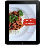 Mixing It The Paleo Way IPad Square