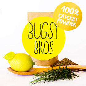 Bugsy Brothers Cricket Flour